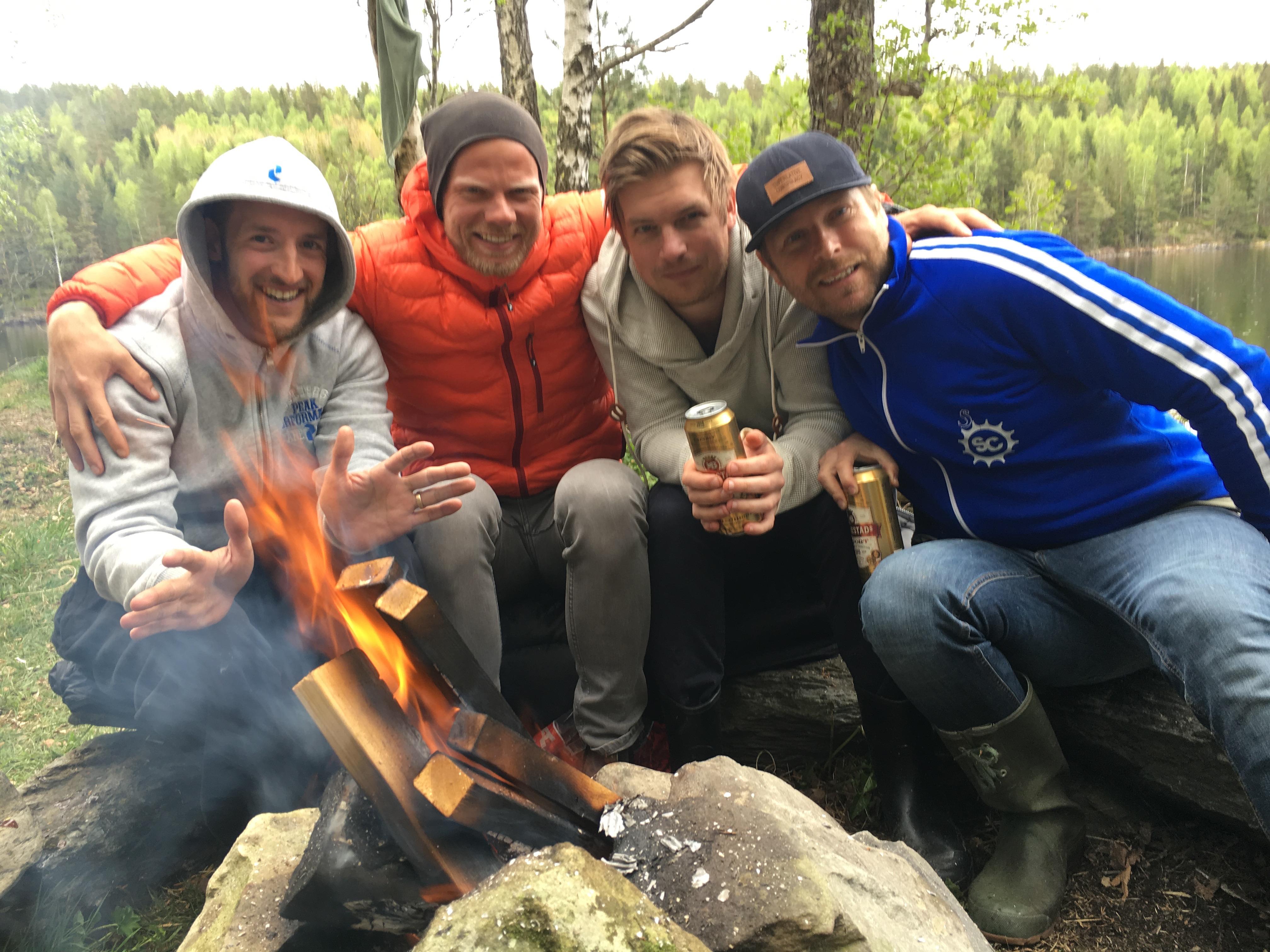 grupp-bild-lager-eld-grill